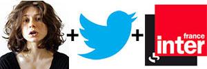 Solange lit tous tes tweets sur France Inter