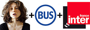 solange t ecoute dans le bus parisien sur france inter nouveaux médias